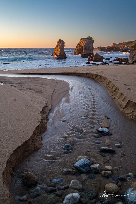 A Photo of the California Coast
